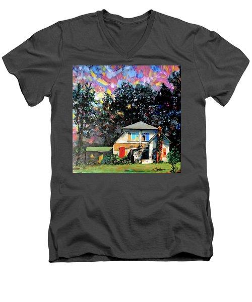 Potential On Elm Street Men's V-Neck T-Shirt