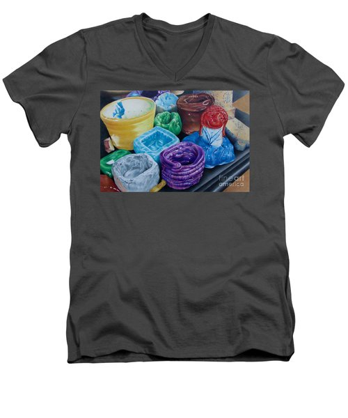 Pottery Princess Men's V-Neck T-Shirt