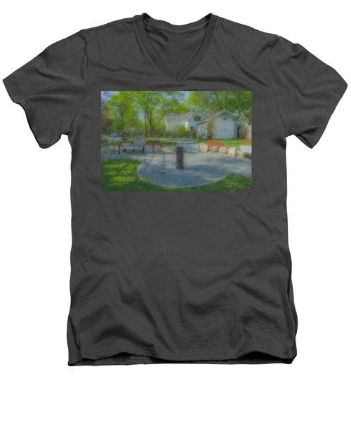 Povoas Park Men's V-Neck T-Shirt