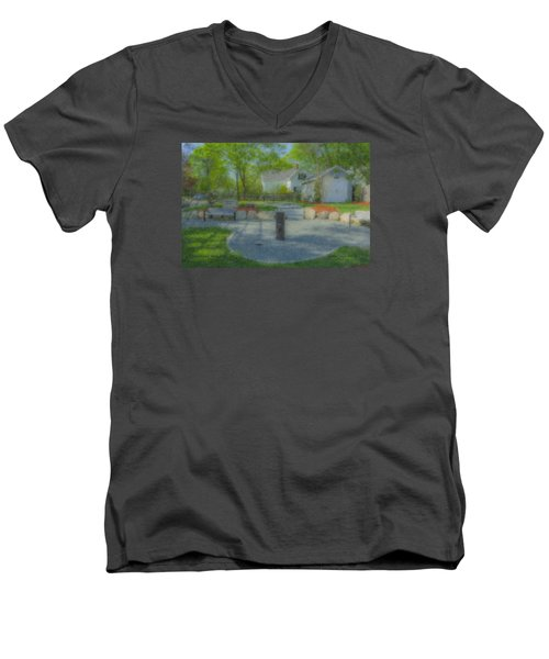 Povoas Park Men's V-Neck T-Shirt