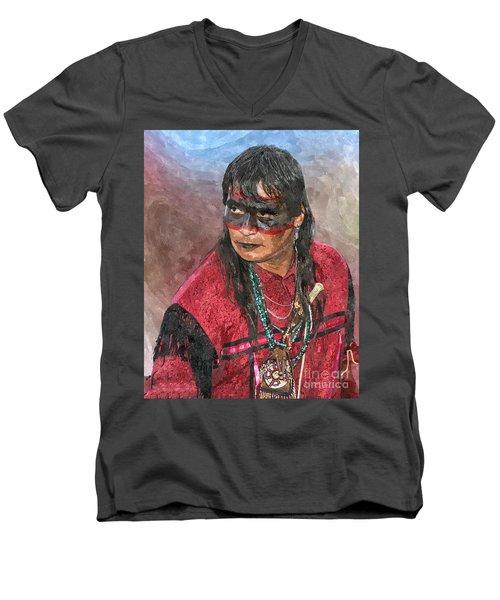 Pow Wow Men's V-Neck T-Shirt