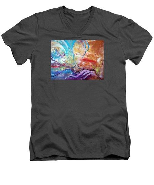 Power Of Now Men's V-Neck T-Shirt