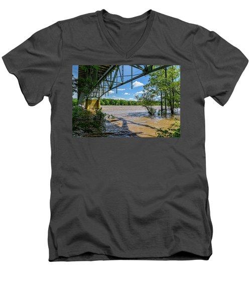 Power Of The James Men's V-Neck T-Shirt