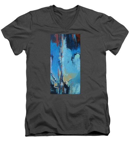 Power Released Men's V-Neck T-Shirt