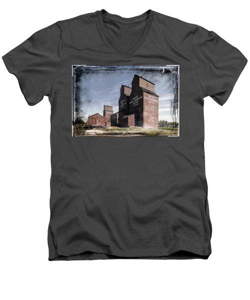 Prairie Sentinels II Men's V-Neck T-Shirt