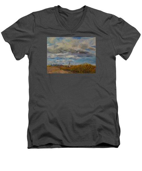 Prairie Town Men's V-Neck T-Shirt