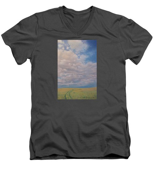 Prairie Trail Men's V-Neck T-Shirt