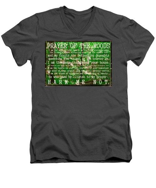 Prayer Of The Woods 2.0 Men's V-Neck T-Shirt