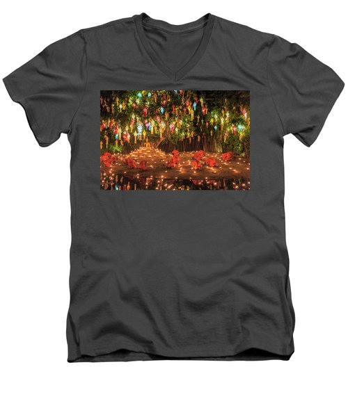 Prayers Men's V-Neck T-Shirt
