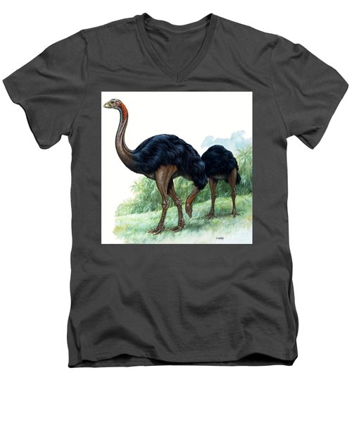Pre-historic Birds Men's V-Neck T-Shirt