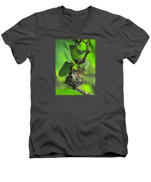 Precious Nature Men's V-Neck T-Shirt by I'ina Van Lawick