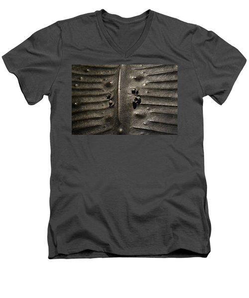 Prehistoric Turtle Shell Men's V-Neck T-Shirt