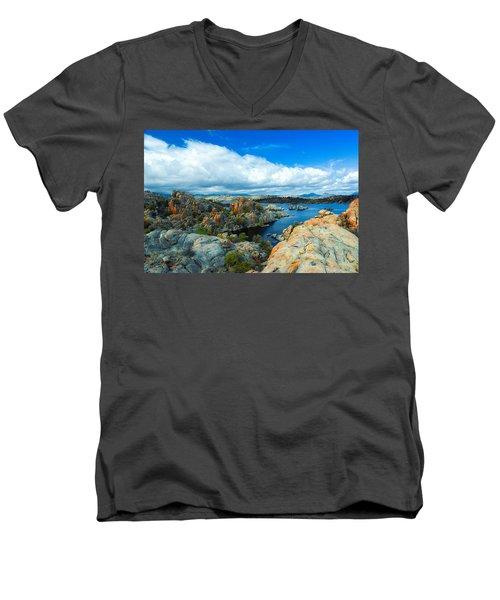 Prescott Rocks Men's V-Neck T-Shirt