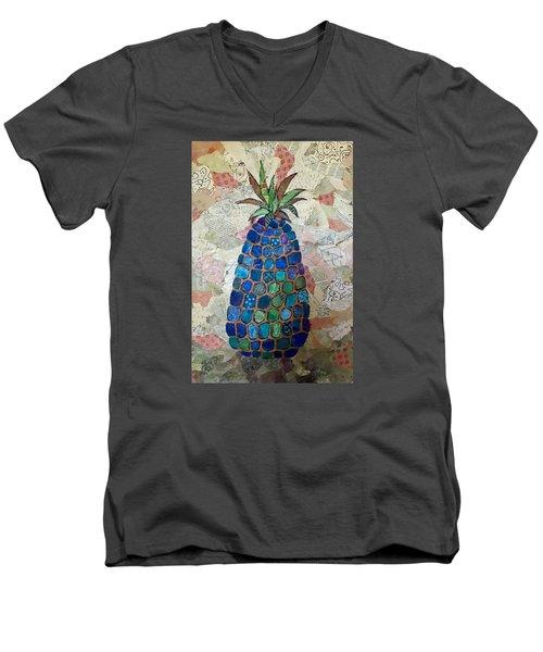 Pretend Pineapple Men's V-Neck T-Shirt