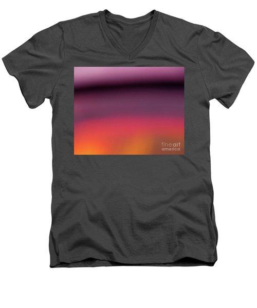 Pretend Sunset Men's V-Neck T-Shirt