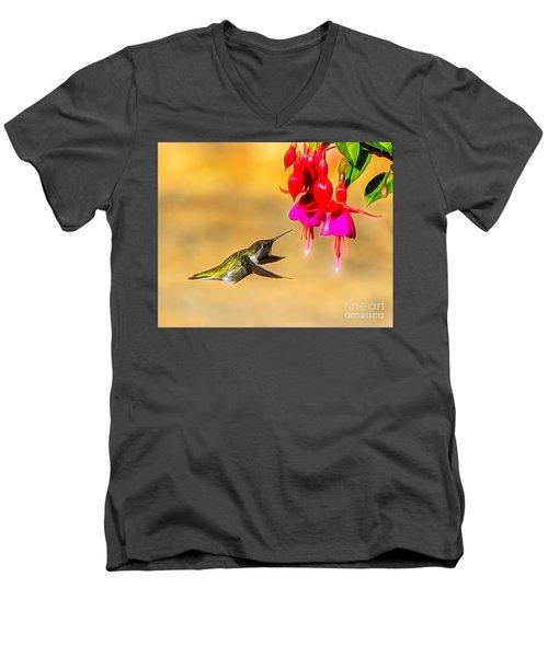 Pretty Anna Men's V-Neck T-Shirt