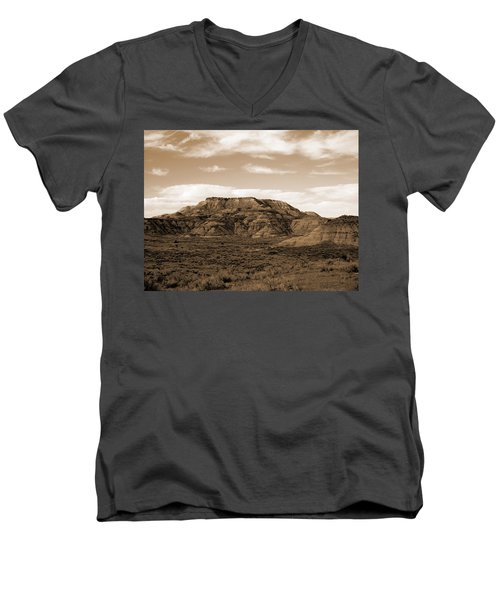 Pretty Butte Men's V-Neck T-Shirt