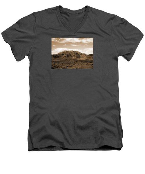 Pretty Butte Men's V-Neck T-Shirt