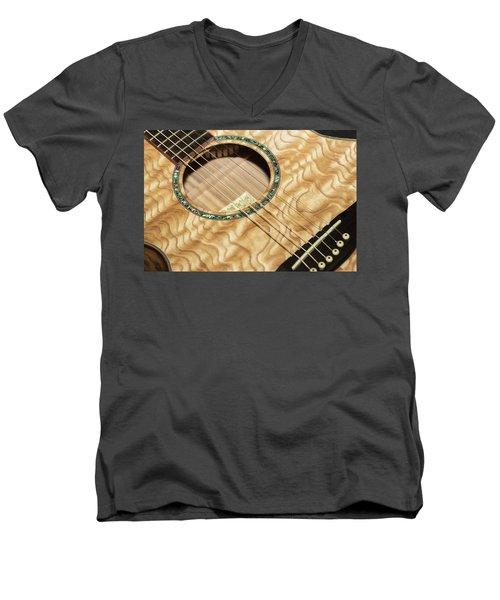 Pretty Guitar - Men's V-Neck T-Shirt