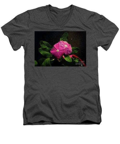 Pretty In Pink Men's V-Neck T-Shirt by Douglas Stucky