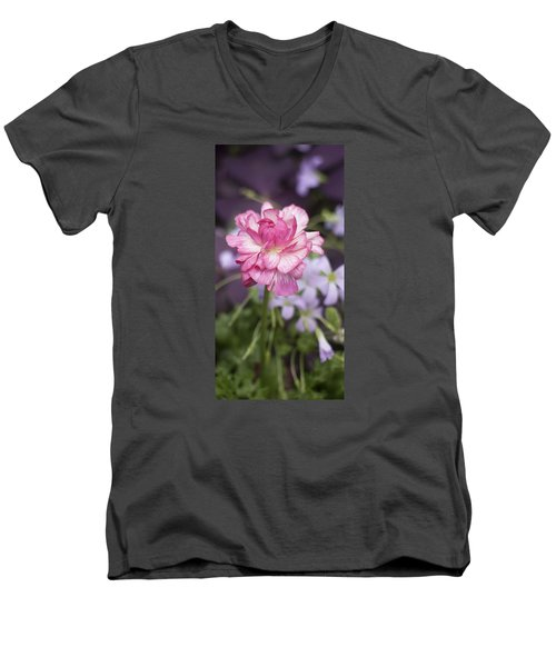 Pretty In Pink Men's V-Neck T-Shirt by Morris  McClung