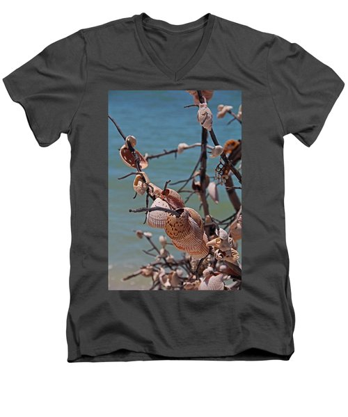 Men's V-Neck T-Shirt featuring the photograph Previously Loved Treasures by Michiale Schneider