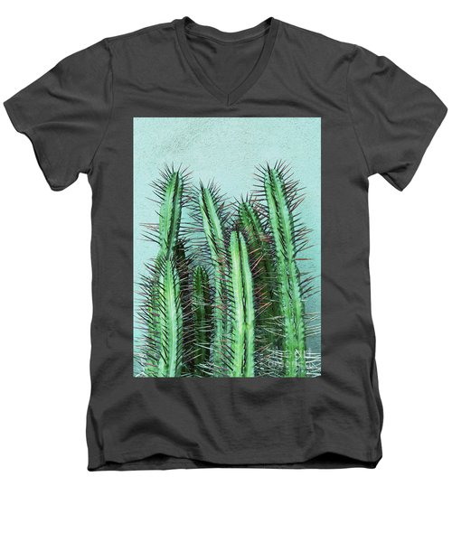 Prick Cactus Men's V-Neck T-Shirt