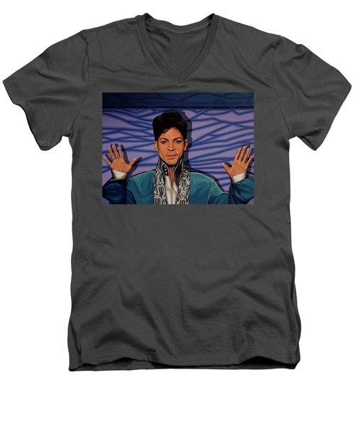 Prince 2 Men's V-Neck T-Shirt