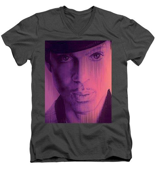 Prince - Purple Rain Men's V-Neck T-Shirt