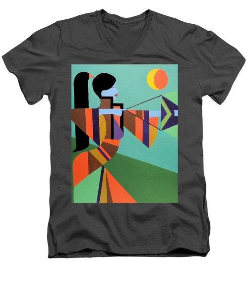 Princess Arrow Men's V-Neck T-Shirt