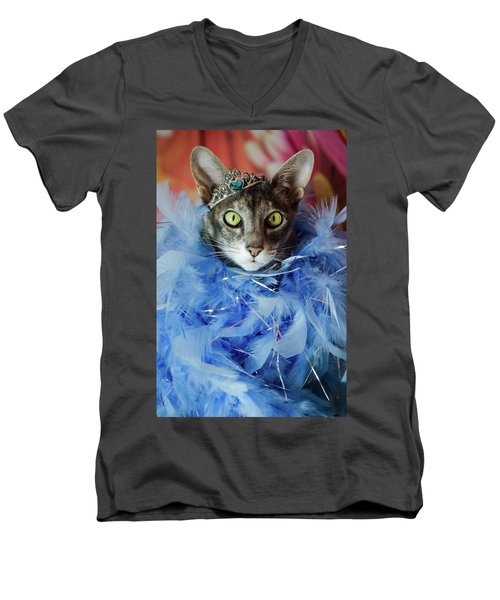 Princess Cat Men's V-Neck T-Shirt