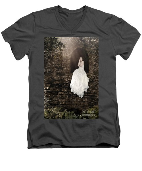 Princess In The Tower Men's V-Neck T-Shirt