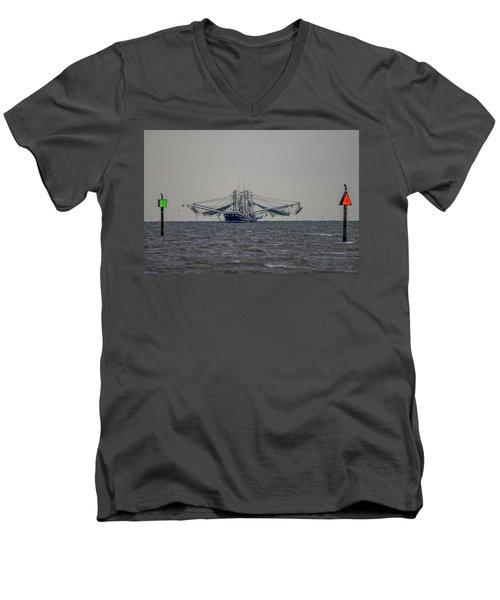 Men's V-Neck T-Shirt featuring the photograph Princess Jasmine II by Paul Freidlund