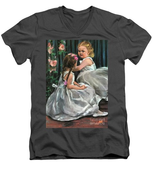 Princesses Men's V-Neck T-Shirt