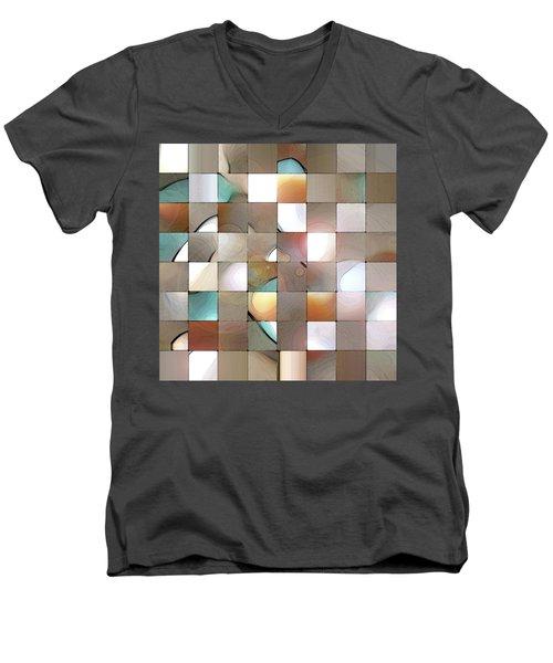 Prism 1 Men's V-Neck T-Shirt