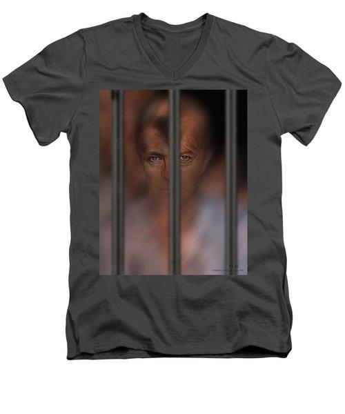 Prisoner Of Love Men's V-Neck T-Shirt