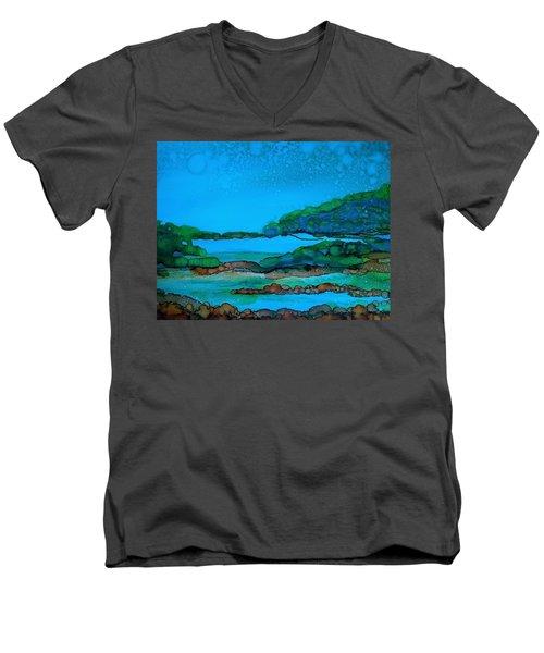 Private Property Men's V-Neck T-Shirt