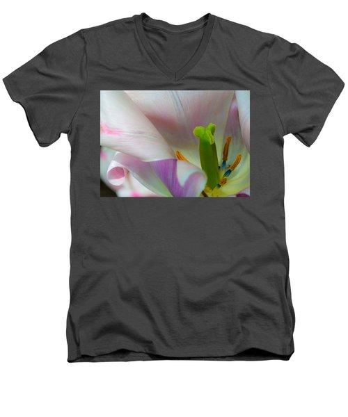 Private Showing Men's V-Neck T-Shirt