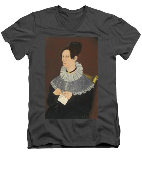 Probably Sarah Cook Arnold Knitting Men's V-Neck T-Shirt