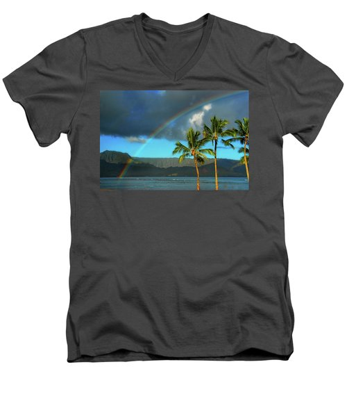 Men's V-Neck T-Shirt featuring the photograph Promise Of Hope by Lynn Bauer