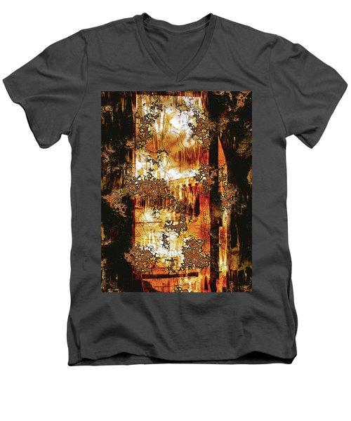 Prophecy Men's V-Neck T-Shirt by Paula Ayers