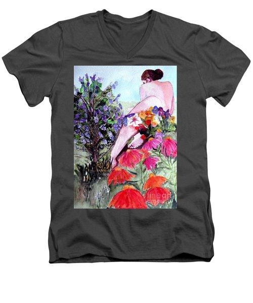 Proserpina Rising Men's V-Neck T-Shirt