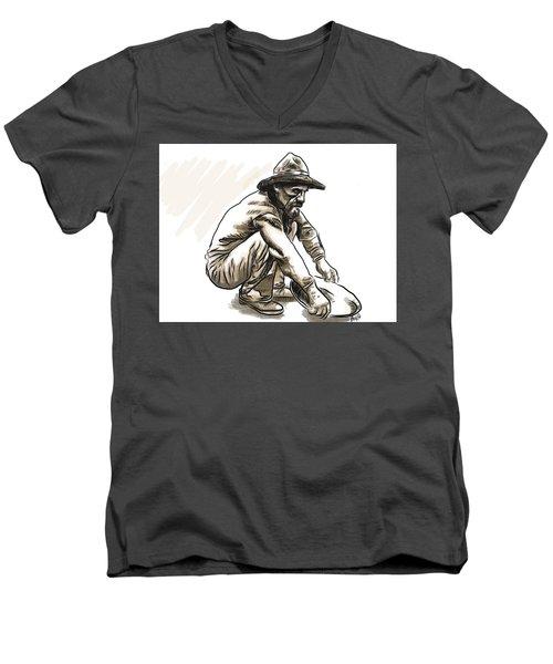 Prospector Men's V-Neck T-Shirt