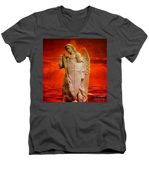 Protect Those Who Serve 2016 Men's V-Neck T-Shirt