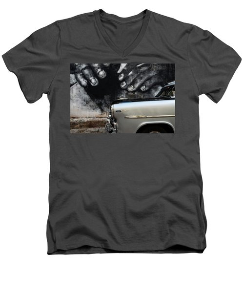 Protection Men's V-Neck T-Shirt