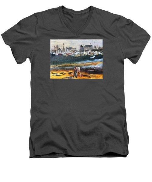 Provincetown Artist Men's V-Neck T-Shirt