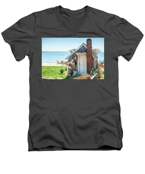 Provincetown Shed Men's V-Neck T-Shirt