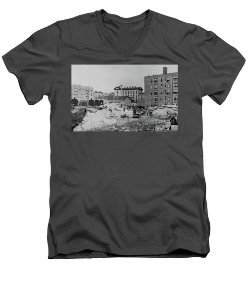 Ps 52  Men's V-Neck T-Shirt