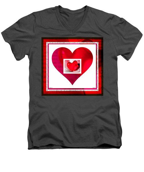Psalm 19 Meditation  Men's V-Neck T-Shirt
