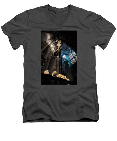Psalms 119 105 Men's V-Neck T-Shirt